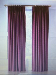 Burgundy Curtains and Sheers