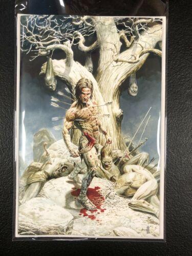 BRZRKR #1 Cards Comics and Collectibles Exclusive JG Jones Virgin Art Variant