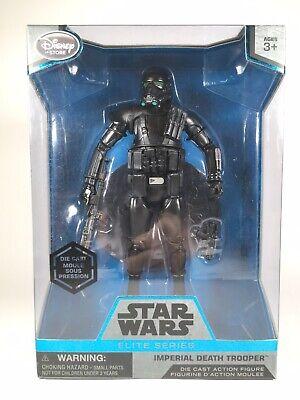 Star Wars Elite Series Imperial Death Trooper Die Cast Figure Disney New Sealed