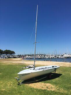 """420 Sailing Boat - """"Conciliandos"""" - 51651"""