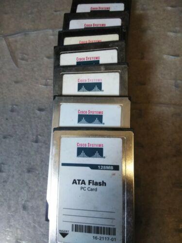 Cisco 128MB PCMCIA Flash Card 16-2117-01 Quantity1