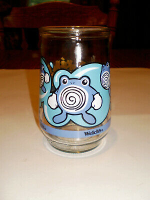 Vintage Welch's Jelly Jar Pokemon #61 Poliwhirl 1998/99