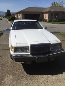 1988 Lincoln Mark 7, Sports Coupe. Excellent condition.