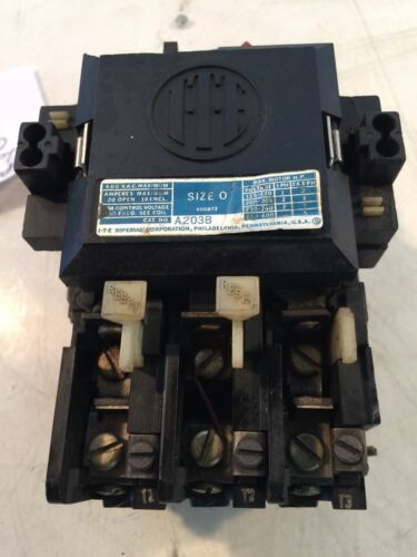 ITE Imperial Corp A203B Motor Starter