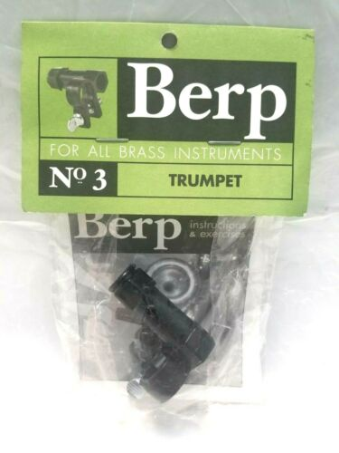Berp For All Brass Instruments No 3 Trumpet    - Free Shipping -