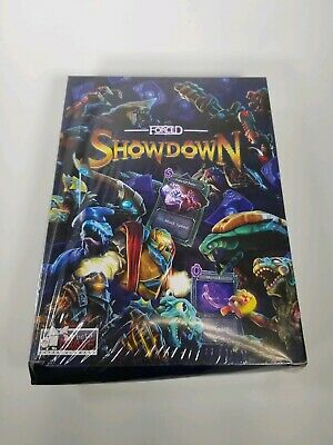 NEW SEALED FORCED SHOWDOWN INDIEBOX FIRST EDITION PC MAC LINUX VIDEO GAME!