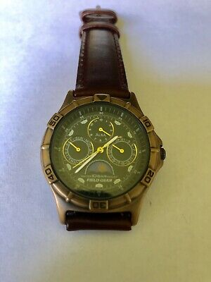 Vintage Seiko Alba Field Gear Unisex Watch V33F - 6A80 Excellent Condition