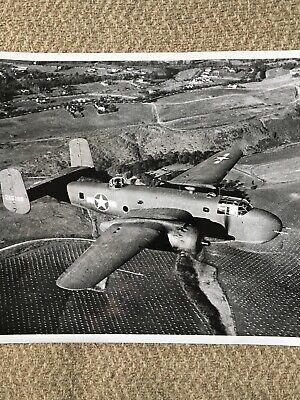 Vintage USAAF B-25A Mitchell ORIGINAL Military Press Photo 8x10