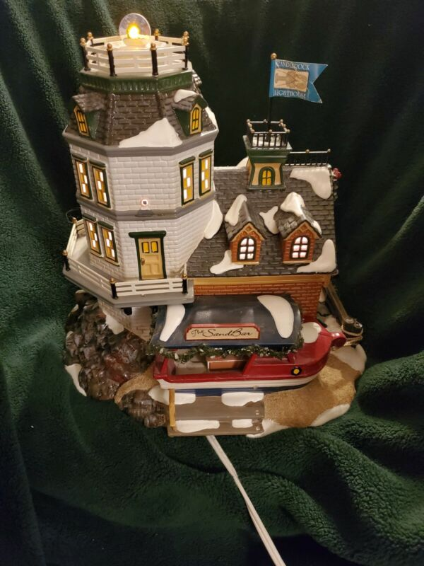 Dept. 56:Candlerock Lighthouse  Restaurant - LE Snow Village - READ DESCRIPTION