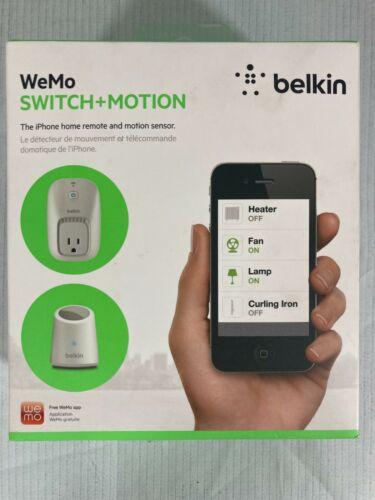 Belkin WeMo Switch + Motion, Smart Phone Home Remote