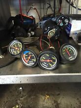 Oil pressure , water temperature, vacuum, and ampers gauges North St Marys Penrith Area Preview