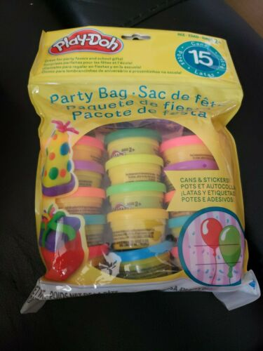 Play-Doh Party Bag Dough Cans  Party Favors Gifts New