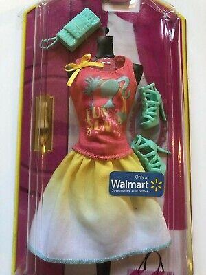 Barbie Fun in the Sun Fashion Pack Walmart