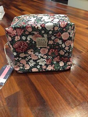 Jack Wills Floral Wash Bag for sale  Wirral