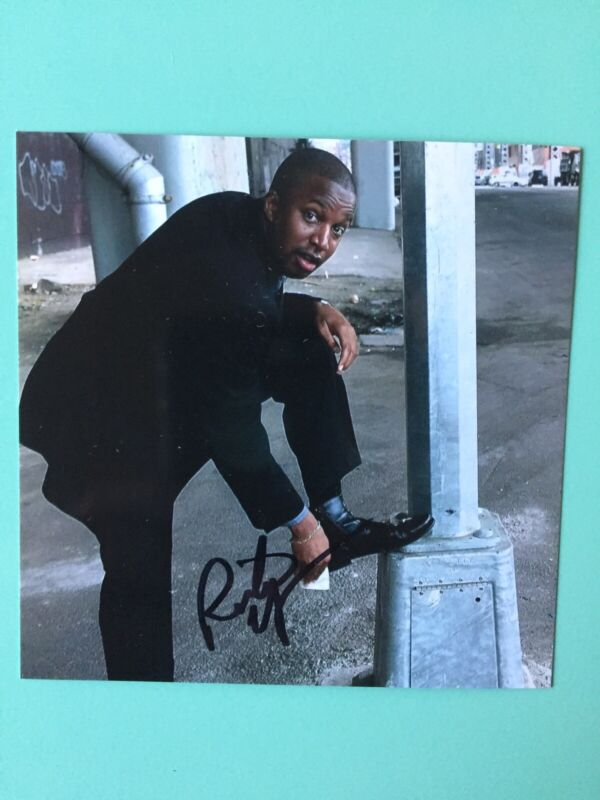 Rick Younger Signed 4X4 Color Photo  Mr Duvall Mean Girls Broadway TV Today Show