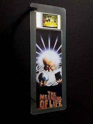 MEANING OF LIFE Movie Film Cell Bookmark - complements movie dvd poster