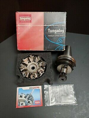 Tungaloy 45 2-12 Face Mill Cat40 34 Pilot Holder Profile Cutter Snmu Onmu