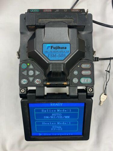 Fujikura Arc Fusion Splicer FSM-50S Calibrated & Certified