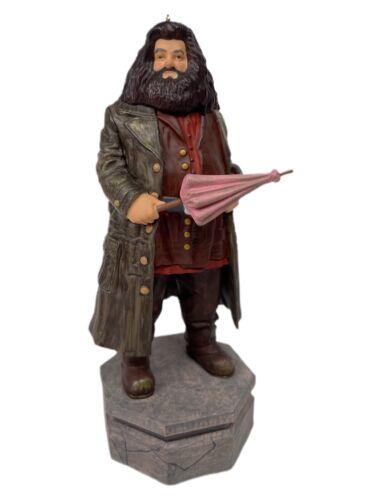 2020 HALLMARK KEEPSAKE RUBEUS HAGRID Harry Potter STORYTELLER ORNAMENT W/ CORD