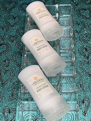 "Clean Body Lotion (La Quinta Fresh & Clean ""BODY LOTION"" LOT OF 3 *TRAVEL SIZE-LIGHTNING FAST SHIP*)"