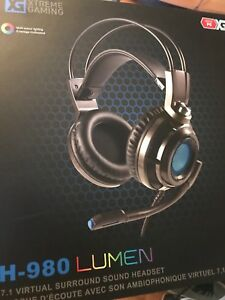 Headset Gaming -   H-980