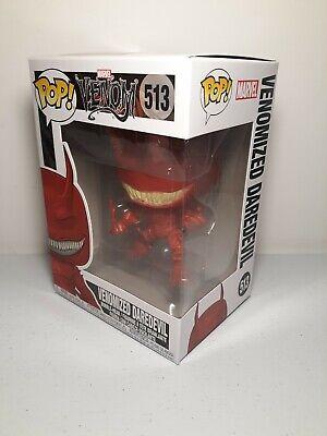 Funko Pop Vinyl Marvel Venomized Daredevil 513 New in Box Ships Free !!