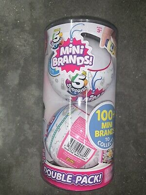 Zuru 5 Surprise Mini Brands 2 Pack Balls New In Package Tube Free Shipping