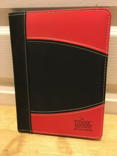 TITANIC Museum Notepad Holder from Branson, MO 2012