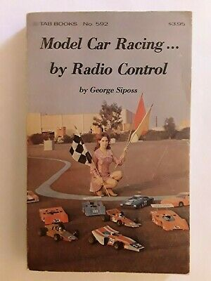 Model Car Racing Vintage Paperback. Collectible First Edition. George Siposs