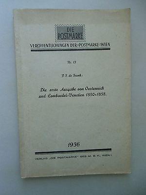 Die erste Ausgabe von Österreich und Lombardei-Venetien 1850-1858 Nr. 13 /1936