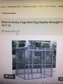 Cat dog reptile large aviary Thirlmere Wollondilly Area Preview