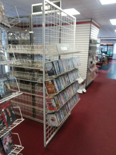 Commercial DVD Display Racks - Local Pickup Only!