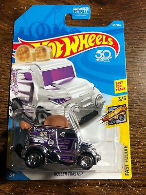 2018 HOT WHEELS Chrome Roller Toaster truck Fast Foodie car 3/5 Best for