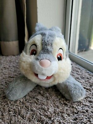 "Walt Disney Store Bambi Thumper Bunny 11"" Soft Plush Stuffed Animal Toy"