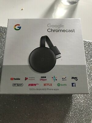 Google Chromecast (boxed)