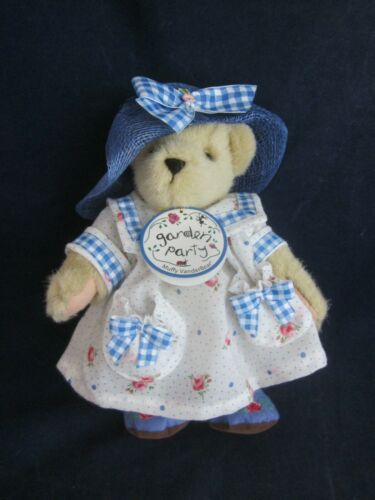 MUFFY VANDERBEAR Garden Party 1998 Muffy Dressed in Outfit VINTAGE NEW TAG