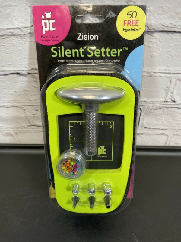 Zision Silent Eyelet Setter ProVo Craft Scrapbooking,Crafts,Repairs 2004 New