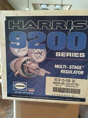 Harris 9200 Series Multi Stage Gas Regulator Argon Helium Nitro Nib Welding