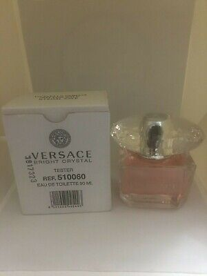 Versace Bright Crystal by Versace EDT Perfume for Women 3 oz New Tester with Cap