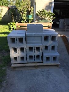 "Concrete Blocks 15.5"" x 9.5"" x7.5"""
