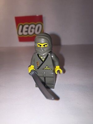 LEGO Grey Shogun 1186  3018 4805 6083 6013 Ninja Castle Minifigure Figure MINT