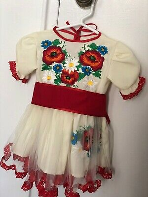 embroidery dress for baby, kids , girl 12-18 month