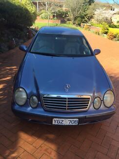 Mercedes Benz CLK 230, updated model