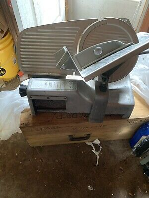 Hobart 512 Commercial Meat Cheese Deli And Meat Slicer