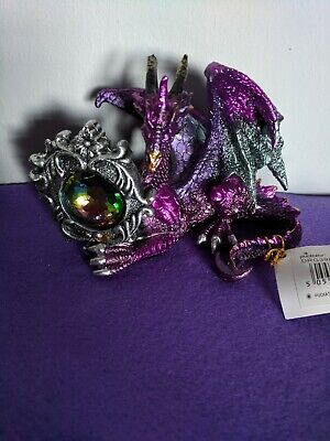 Dragon Ornaments/Figures/Figurines with Inlaid Gems gift idea (B)