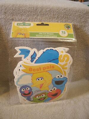 Sesame Street Cutouts (15 Sesame Street Cut Outs)