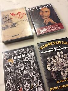DVDS - OASIS  DICK STACEY BOB MARLEY FEAR&LOATHINH
