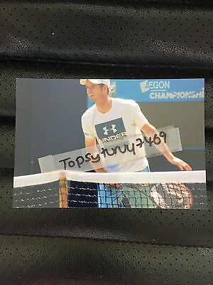 Andy Murray Tennis Photo Aegon Wimbledon 2017 6X4 Inch