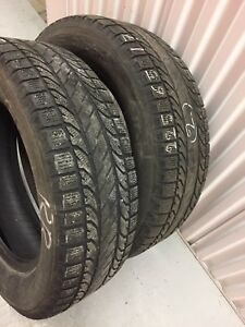x2 BFGoodrich Winter Tires 225/65/17