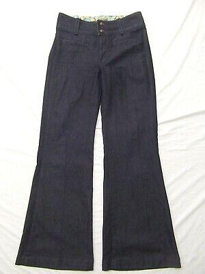 Skinny Wide Leg Jeans (Rich & Skinny stretch denim jeans pants waist wide leg trouser boho flare 29 NEW)